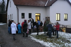 Rozsvícení stromečku v Myslotíně 8.12.2013