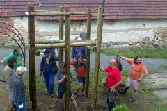 Stavba dětského hřiště 2010