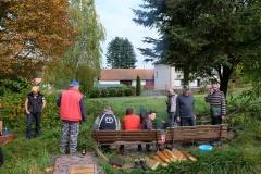VÝLOV HORNÍHO RYBNÍKA A PRODEJ RYB 14.10.2017